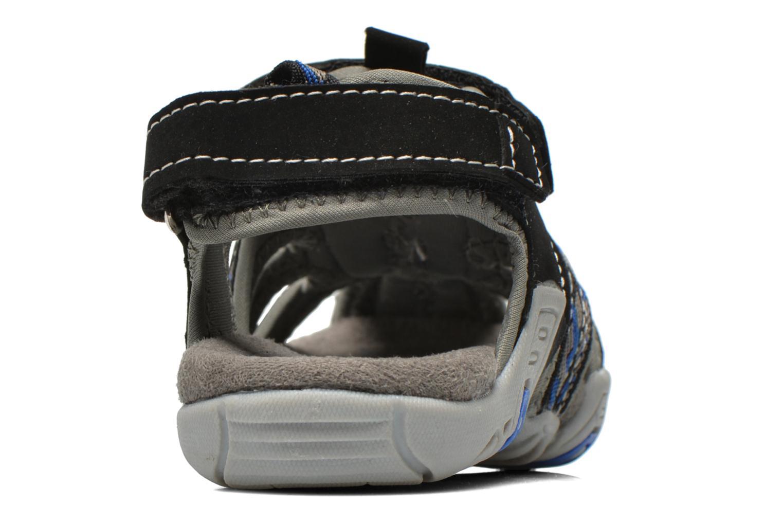 Sandalen I Love Shoes Sulivo grau ansicht von rechts