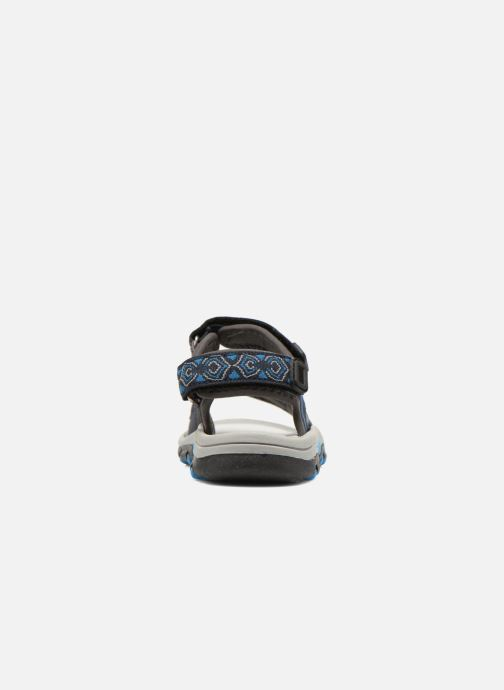 Sandalias I Love Shoes Suriver Azul vista lateral derecha