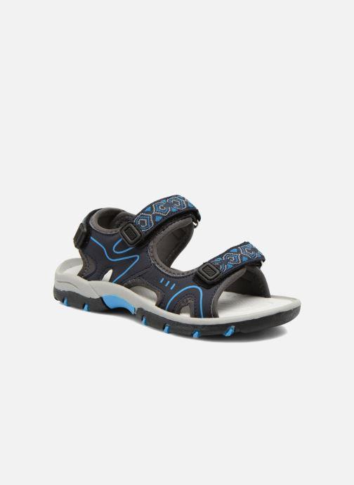 Sandals I Love Shoes Suriver Blue detailed view/ Pair view