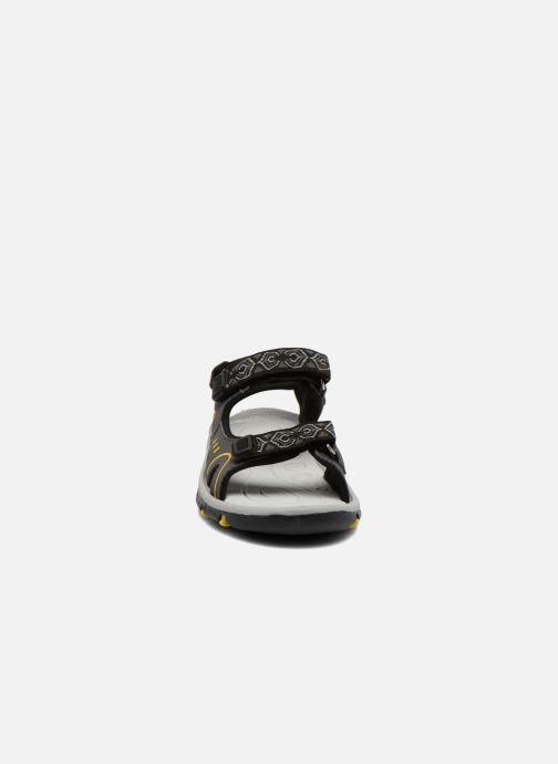 Sandali e scarpe aperte I Love Shoes Suriver Nero modello indossato