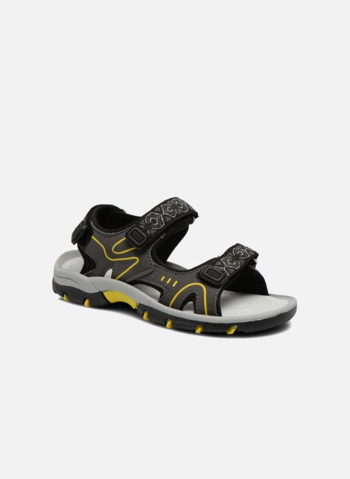 Sandals I Love Shoes Suriver Black detailed view/ Pair view