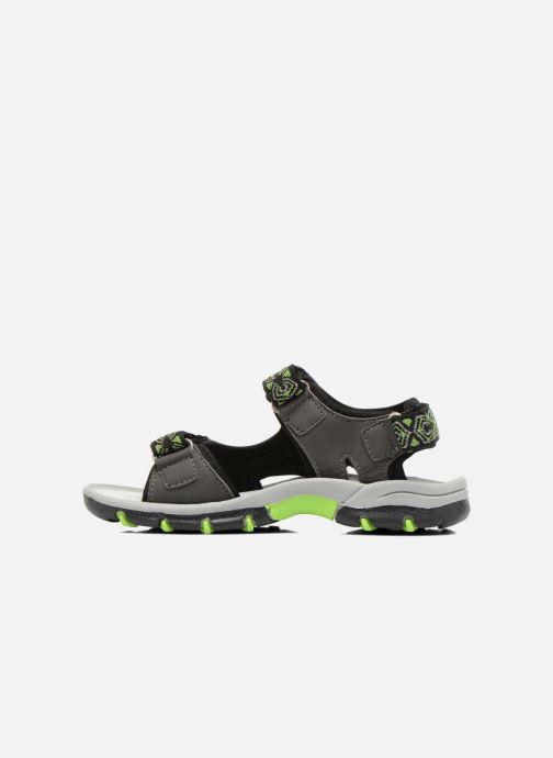 Sandales et nu-pieds I Love Shoes Suriver Gris vue face