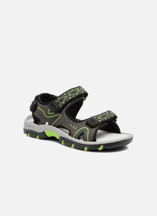 Sandals I Love Shoes Suriver Grey detailed view/ Pair view