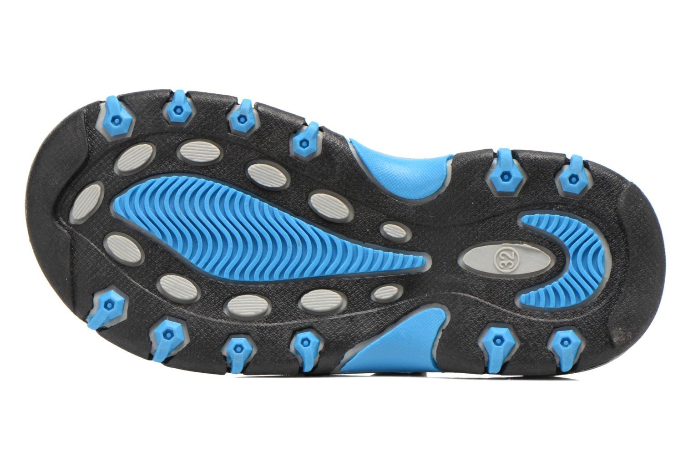 Sandales et nu-pieds I Love Shoes Suriver Bleu vue haut