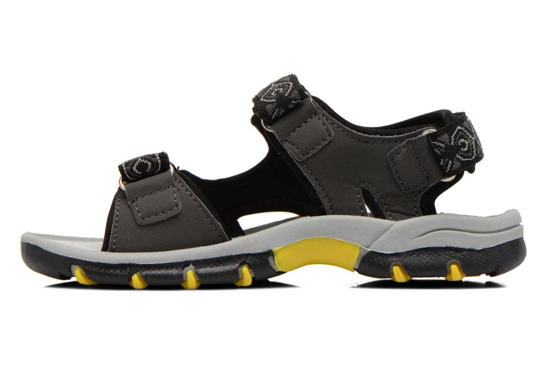Sandales et nu-pieds I Love Shoes Suriver Noir vue face