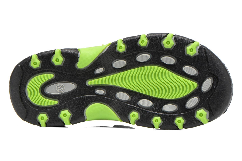 Sandales et nu-pieds I Love Shoes Suriver Gris vue haut