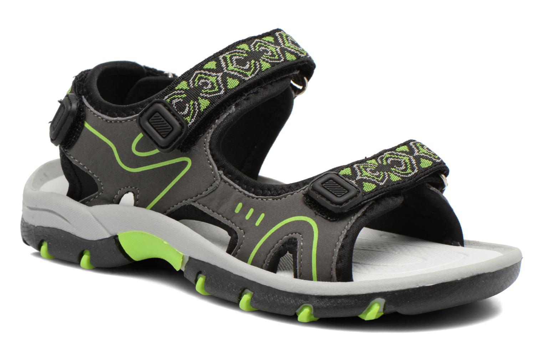 Sandales et nu-pieds I Love Shoes Suriver Gris vue détail/paire