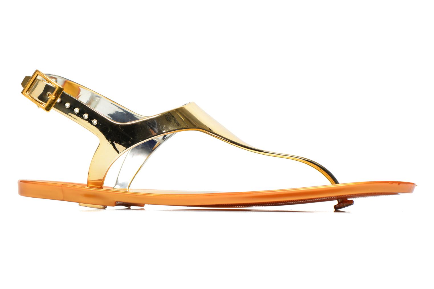 Sandals Xti Okinawa-26987 Bronze and Gold back view