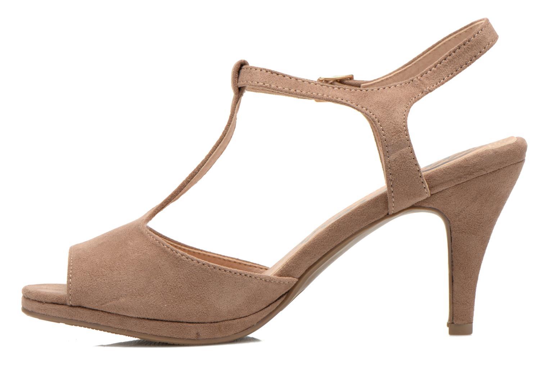 Sandales et nu-pieds Refresh Wanita Marron vue face