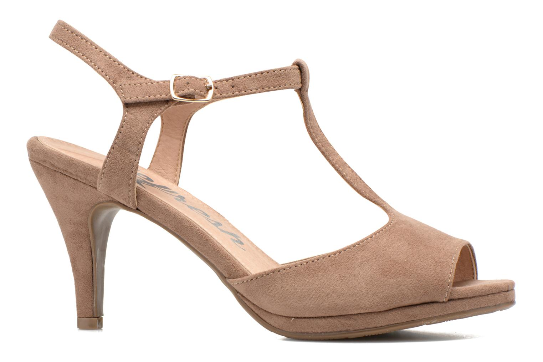 Sandales et nu-pieds Refresh Wanita Marron vue derrière