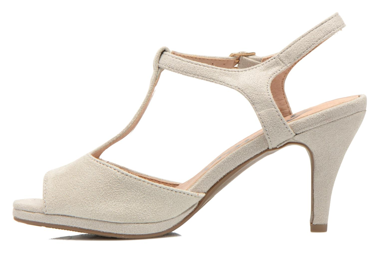 Sandales et nu-pieds Refresh Wanita Argent vue face