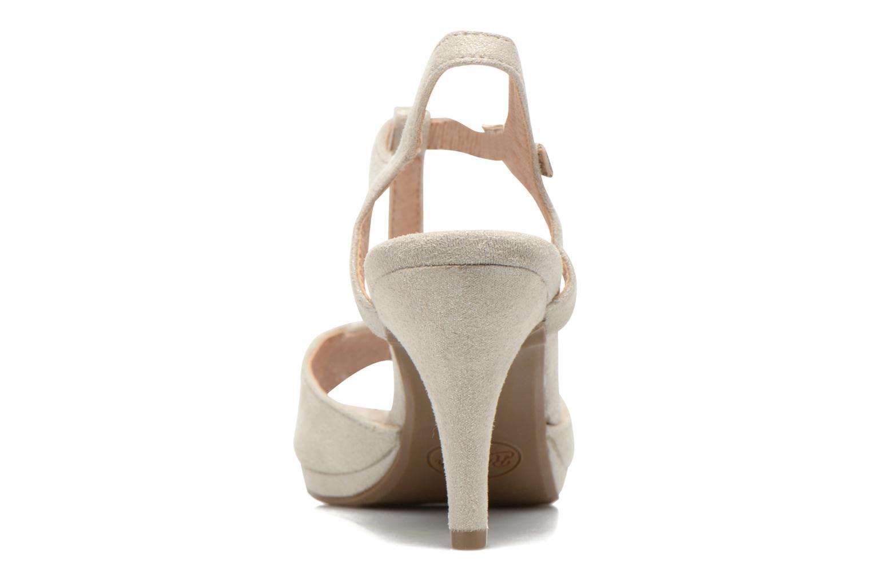 Sandales et nu-pieds Refresh Wanita Argent vue droite