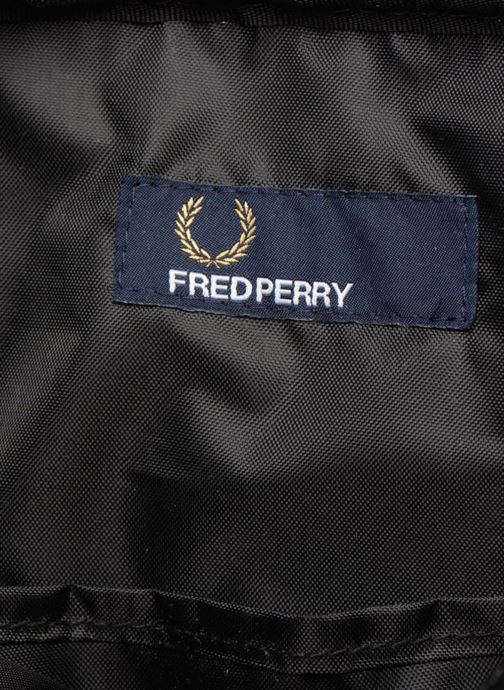 Herentassen Fred Perry Classic side bag Zwart achterkant