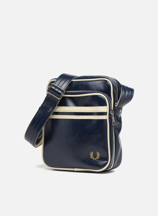 Herentassen Fred Perry Classic side bag Blauw model