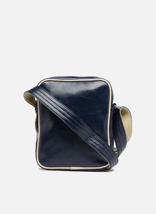 Sacs homme Fred Perry Classic side bag Bleu vue face