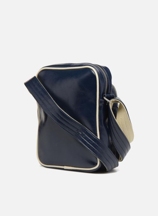 Herentassen Fred Perry Classic side bag Blauw rechts