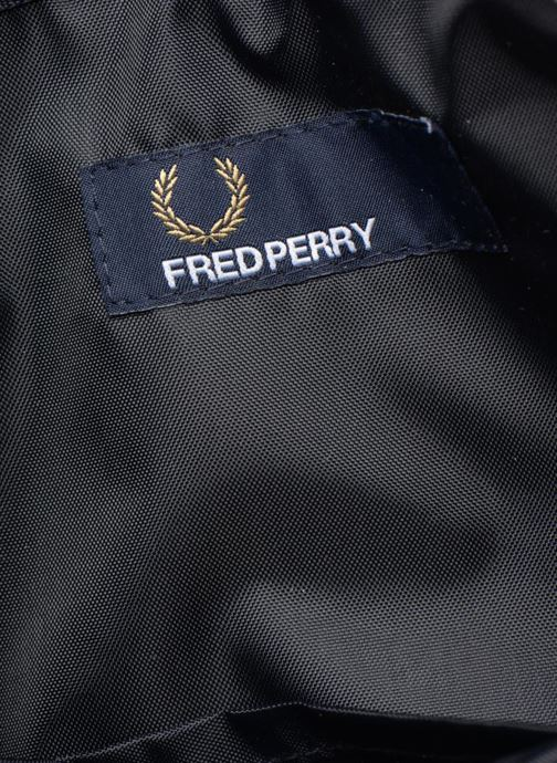 Herentassen Fred Perry Classic side bag Blauw achterkant