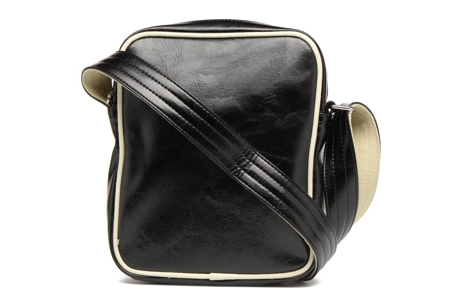 Sacs homme Fred Perry Classic side bag Noir vue face