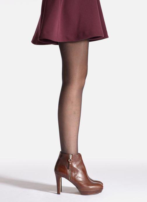 Chaussettes et collants Dim Collant SUBLIM VOILE BRILLANT Noir vue portées chaussures