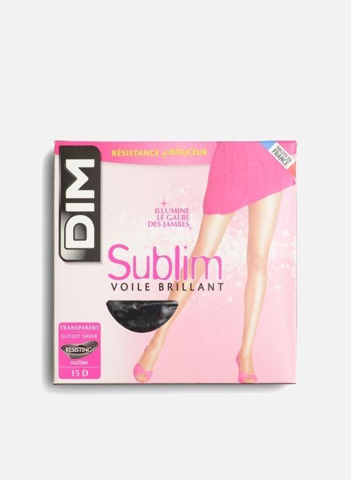Chaussettes et collants Dim Collant SUBLIM VOILE BRILLANT Noir vue détail/paire
