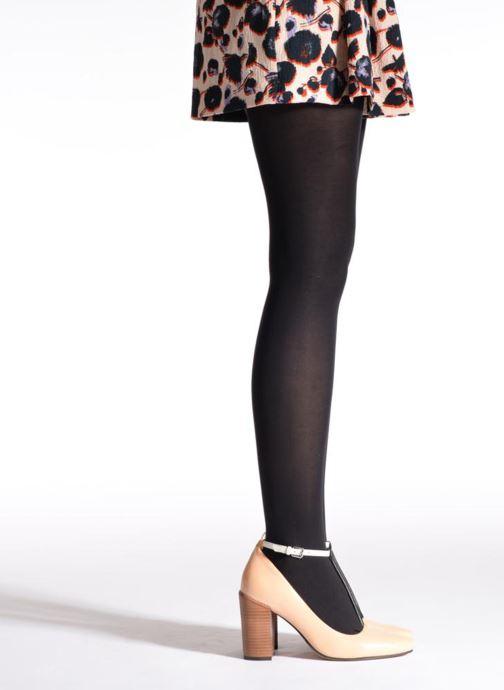 Chaussettes et collants Dim Collant ABSOLU FLEX OPAQUE Noir vue portées chaussures
