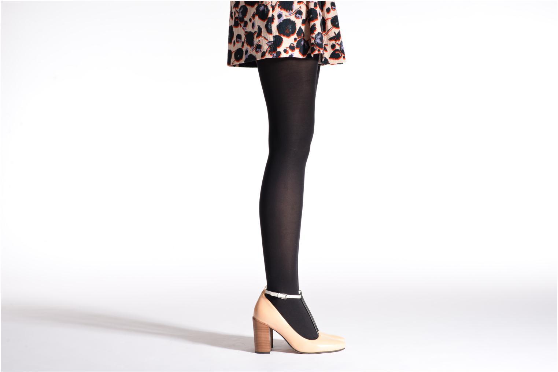 Calze e collant Dim Collant ABSOLU FLEX OPAQUE Nero modello indossato