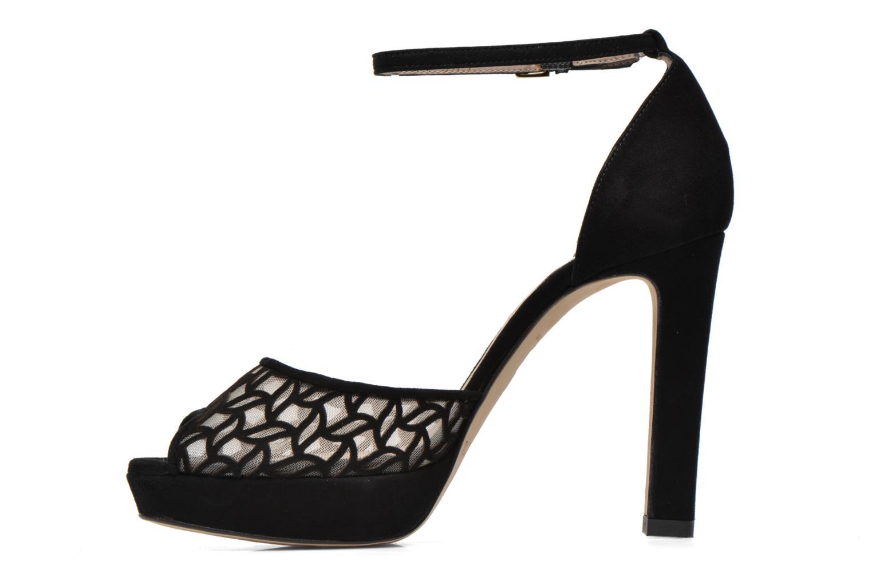 Sandales et nu-pieds L.K. Bennett Simone Noir vue face