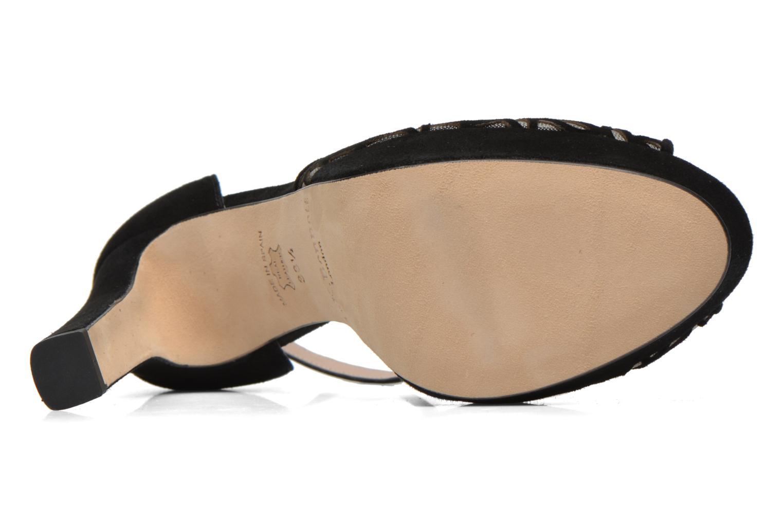 Sandales et nu-pieds L.K. Bennett Simone Noir vue haut