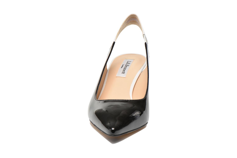 Escarpins L.K. Bennett Anni Noir vue portées chaussures