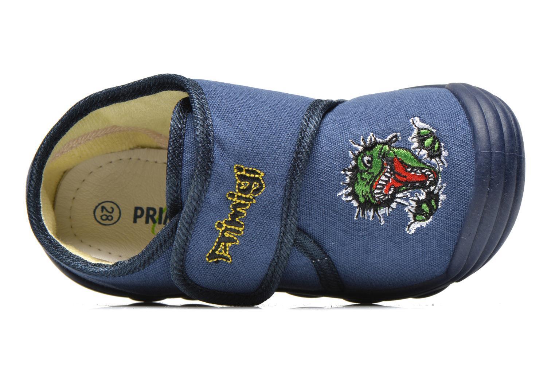 Chaussons Primigi Slippers G3 Bleu vue gauche