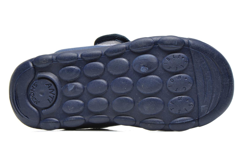 Chaussons Primigi Slippers G3 Bleu vue haut