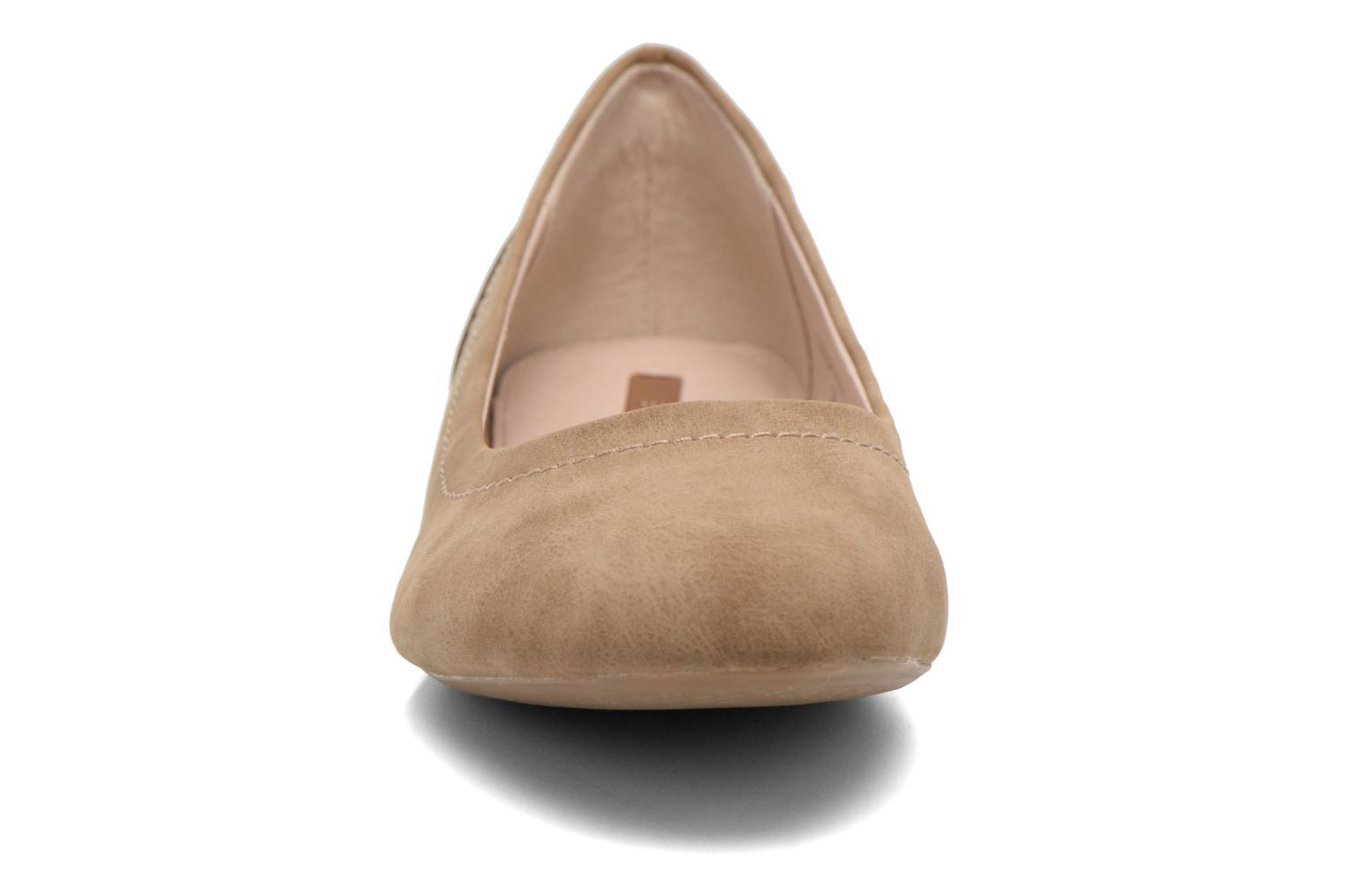 Ballerinaer Esprit Aloa Ballerina 1 Brun se skoene på