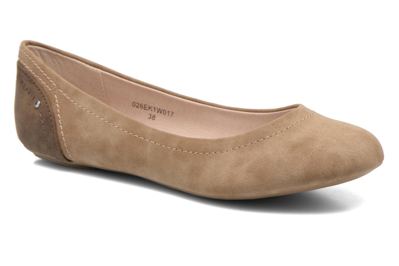 Ballerinaer Esprit Aloa Ballerina 1 Brun detaljeret billede af skoene