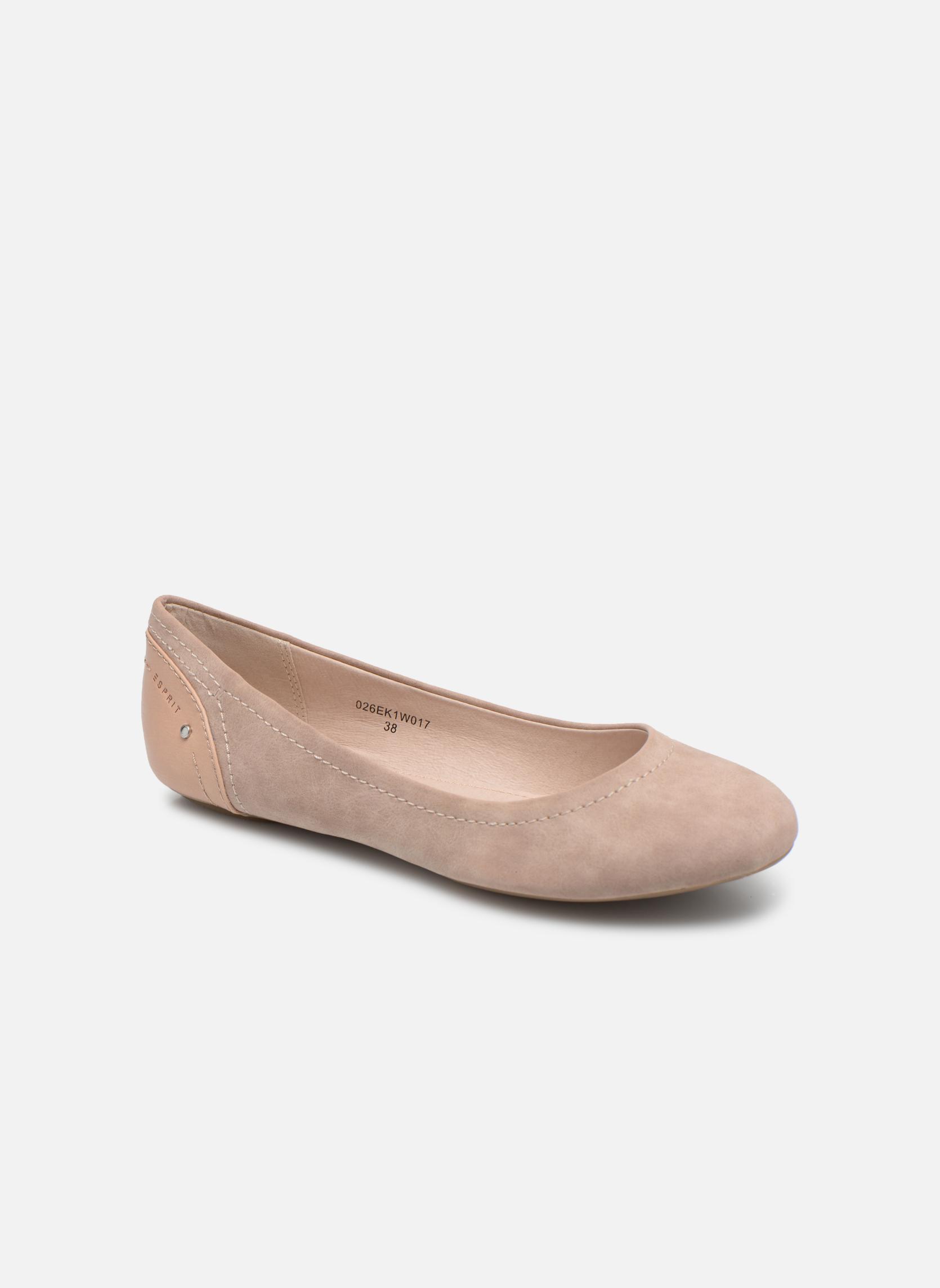 Ballerinaer Esprit Aloa Ballerina 1 Pink detaljeret billede af skoene