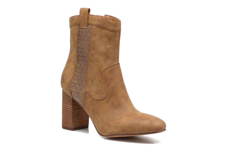 Bottines et boots Esprit Flora Bootie Marron vue détail/paire