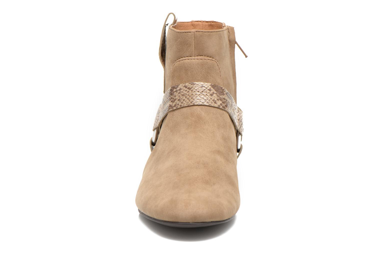 Ankelstøvler Esprit Issy Bootie Beige se skoene på