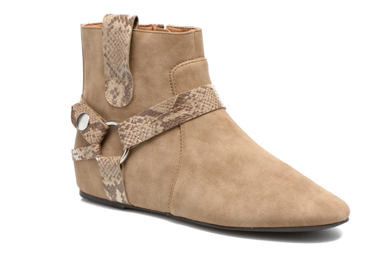Ankelstøvler Esprit Issy Bootie Beige detaljeret billede af skoene