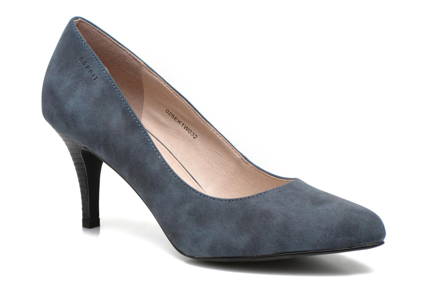 High heels Esprit Rossy Pump Blue detailed view/ Pair view