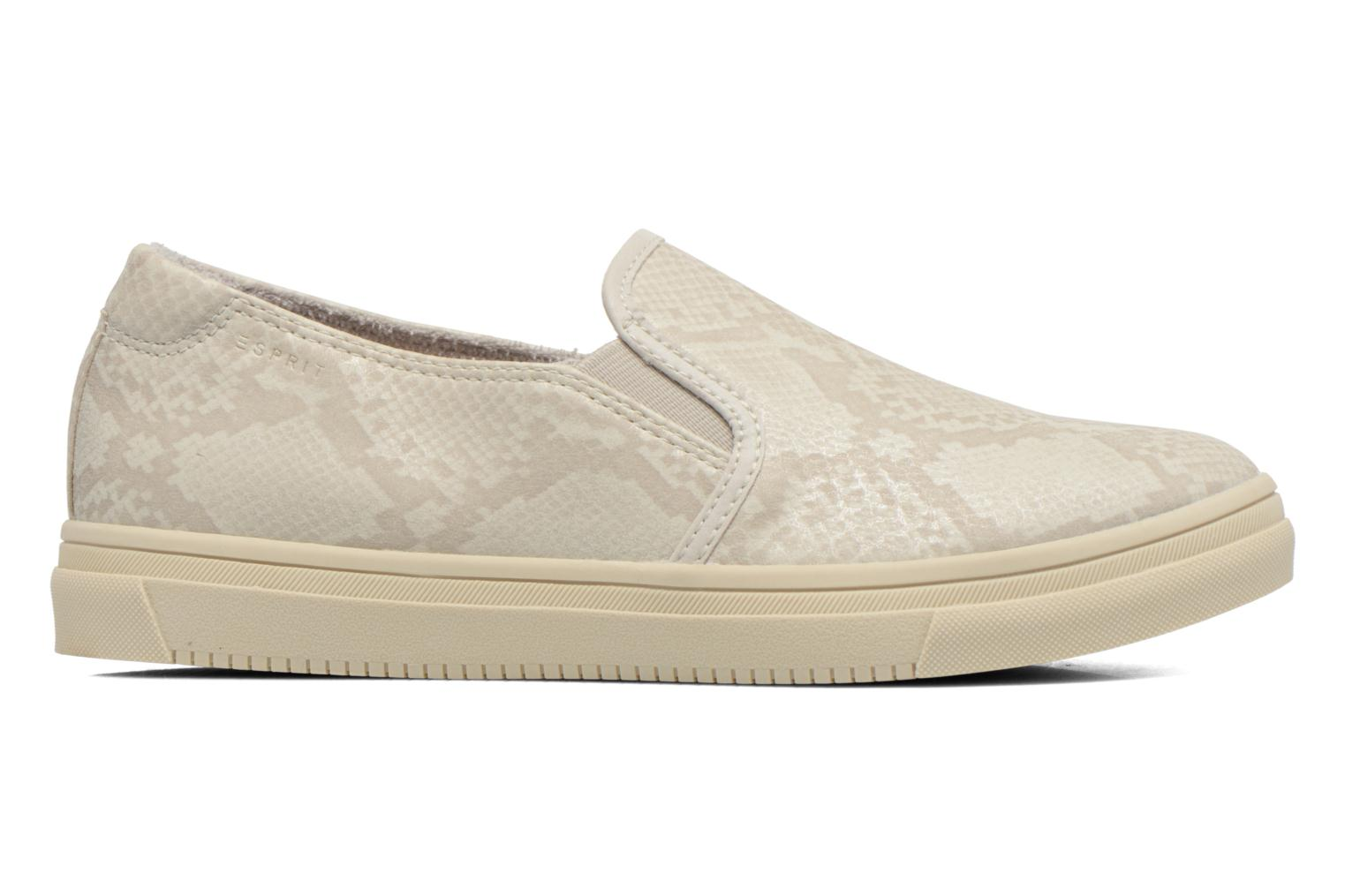 Trainers Esprit Yendis Slip on 009 Beige back view