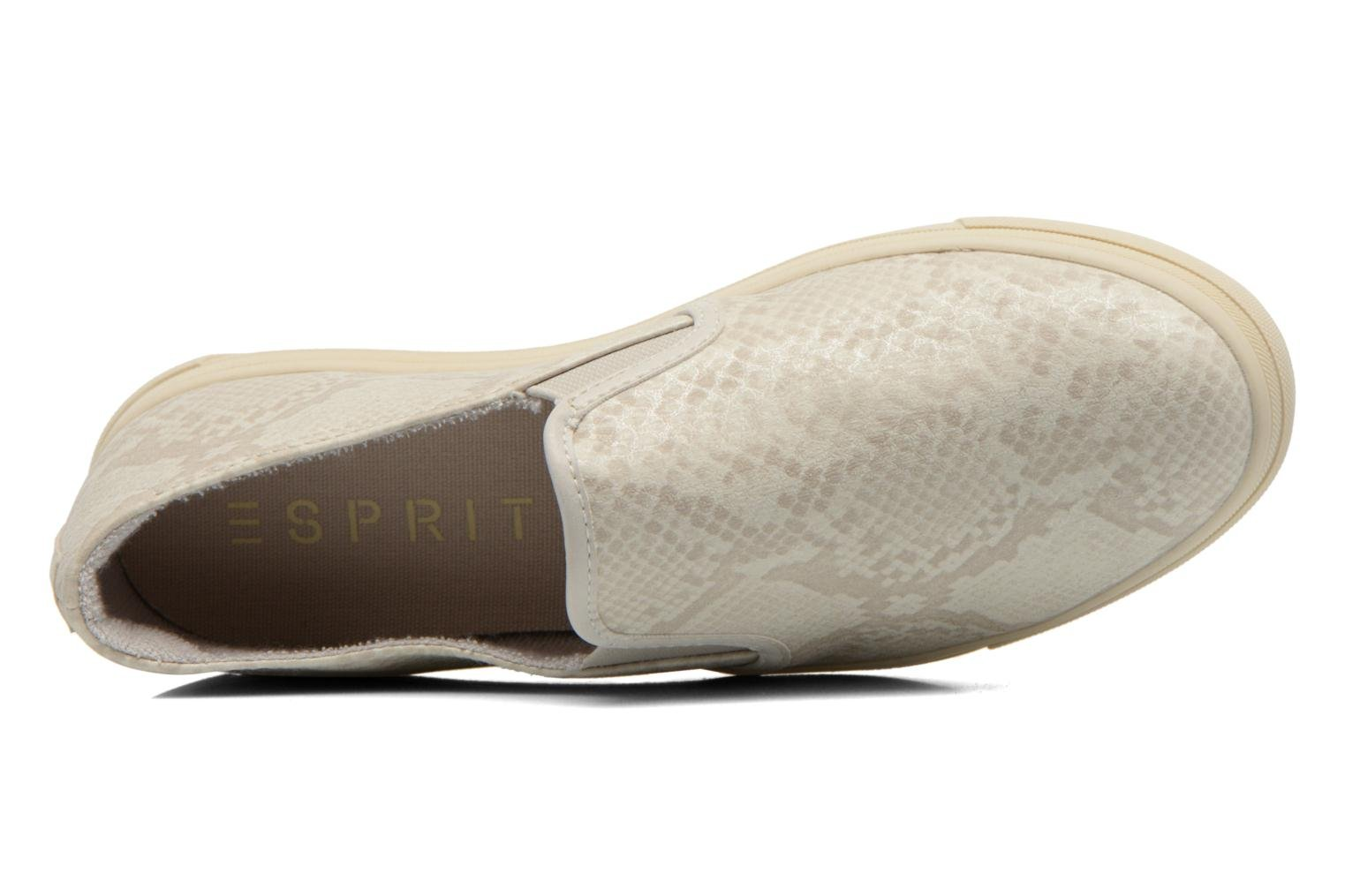 Trainers Esprit Yendis Slip on 009 Beige view from the left