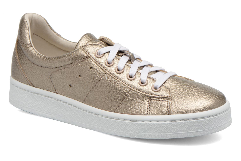 Baskets Esprit Gwen Lace Up Or et bronze vue détail/paire