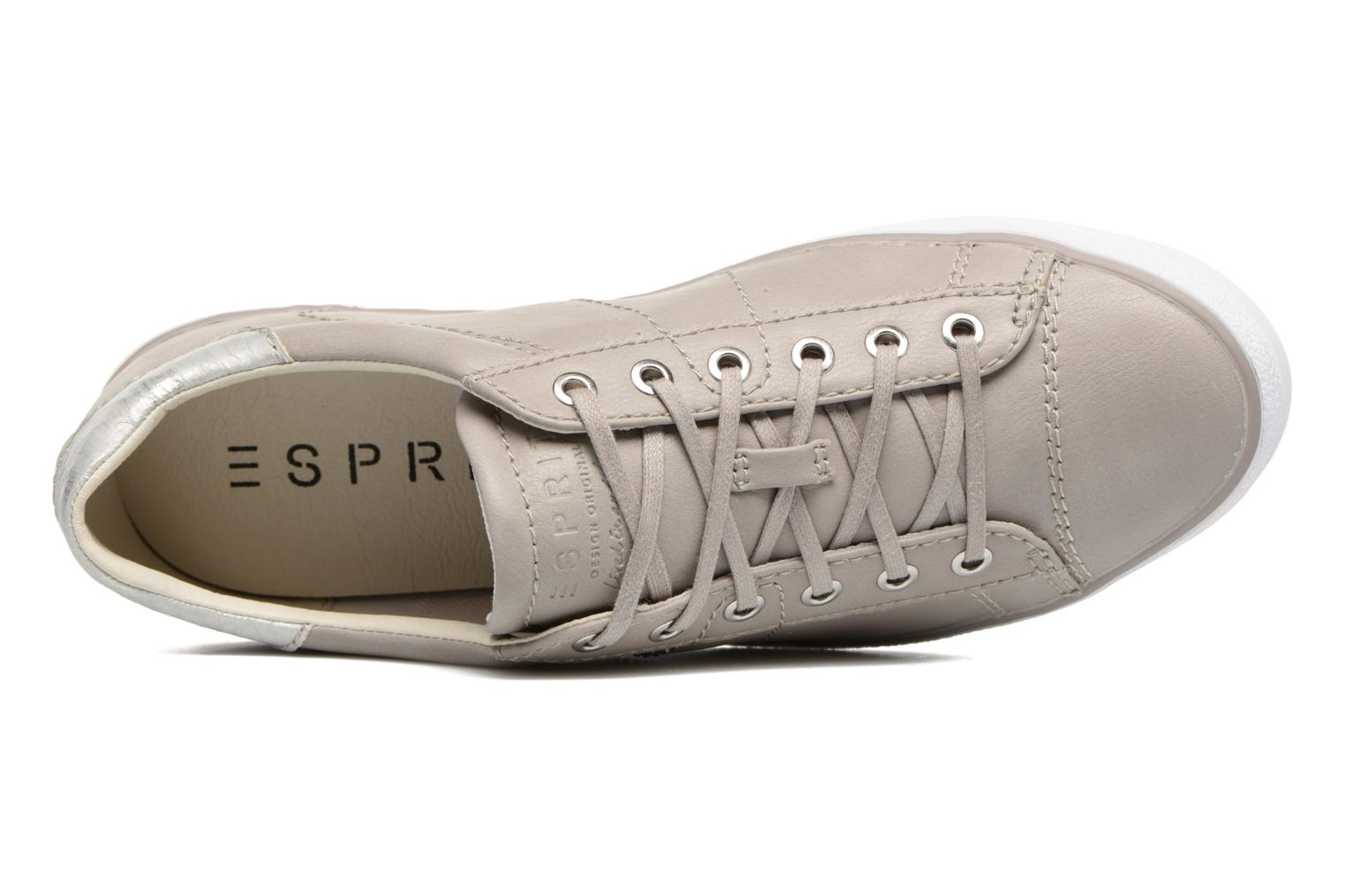 Sneakers Esprit Miana Lace Up Grijs links
