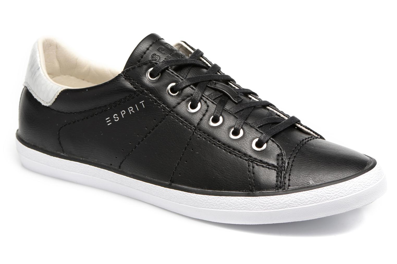 Sneakers Esprit Miana Lace Up Sort detaljeret billede af skoene