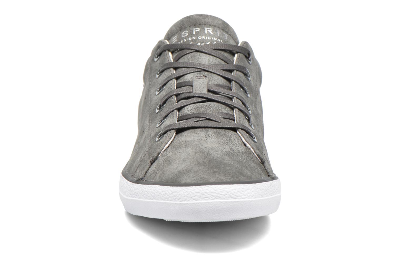 Baskets Esprit Miana Lace Up Gris vue portées chaussures