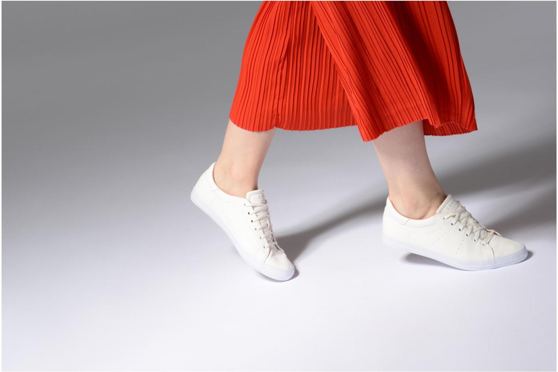 Sneakers Esprit Miana Lace Up Hvid se forneden