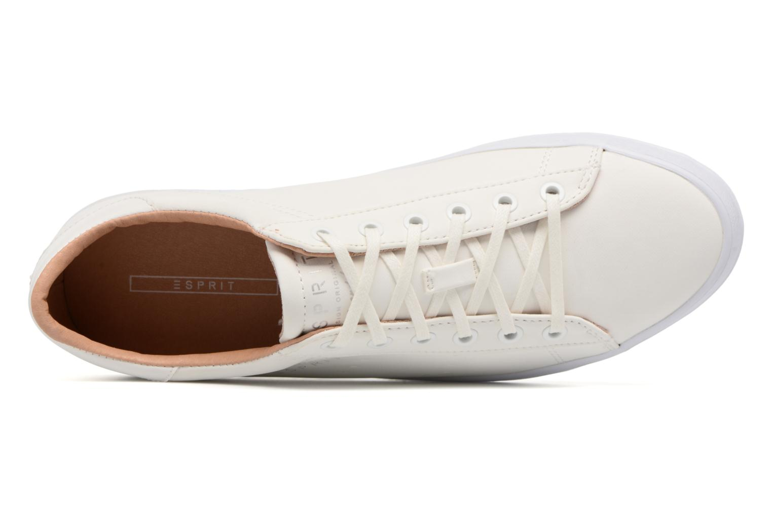 Sneakers Esprit Miana Lace Up Bianco immagine sinistra