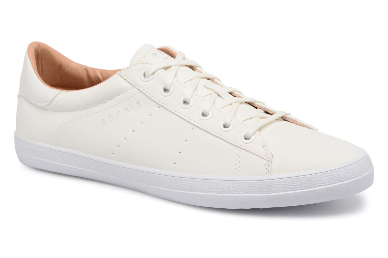 Sneakers Esprit Miana Lace Up Hvid detaljeret billede af skoene