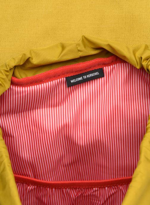 Rucksäcke Herschel Dawson gelb ansicht von hinten