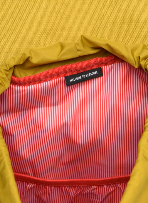Rugzakken Herschel Dawson Geel achterkant