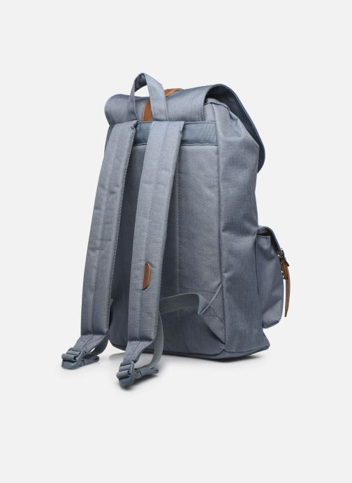 Rucksacks Herschel Dawson Blue view from the right